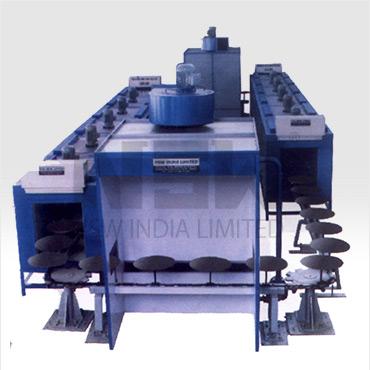 Monorail Floor Conveyor Oven